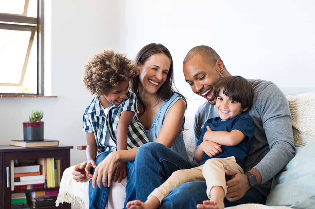 happy step family